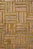 砖老红色 免版税图库摄影