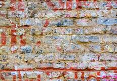 砖脏的纹理墙壁 免版税库存照片