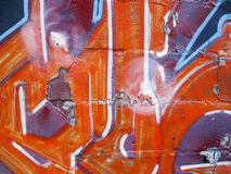 砖街道画 免版税库存图片
