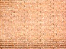 砖表面无光泽的红色墙壁 库存图片
