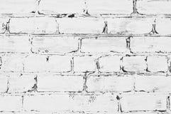 砖被绘的墙壁 库存图片