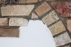 砖装饰的细节 库存照片