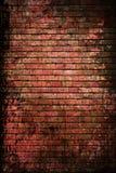 砖装饰表面纹理葡萄酒墙壁 免版税库存图片
