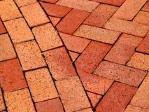 砖路径 免版税库存图片