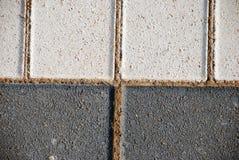 砖路面纹理 免版税图库摄影