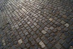 砖路面 免版税库存图片