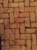 砖道路 图库摄影
