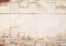 砖难看的东西墙壁背景 免版税库存图片