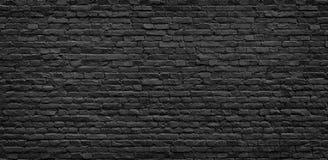 砖黑暗的纹理墙壁 免版税库存照片