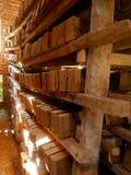 砖,砖工厂 库存图片