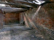 砖,砖工厂 免版税库存照片