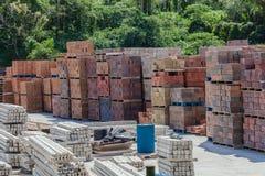 砖块混凝土制品 库存图片