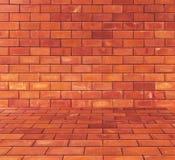 砖阻拦背景 库存图片