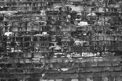 砖grunge墙壁 库存照片