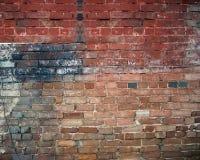 砖grunge墙壁 免版税库存图片