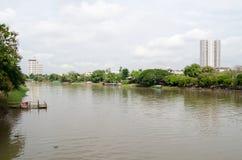砰河,清迈 图库摄影