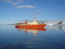 破冰船 库存照片