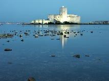破坏西西里岛 库存照片