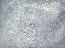破旧的金属片钢背景 阻止银 图库摄影