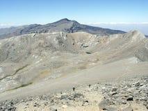 破火山口de la拉古纳 库存照片