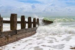破碎机海洋 库存图片