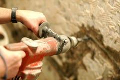 破碎机锤子使用 免版税图库摄影