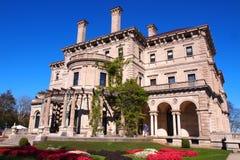 破碎机,纽波特豪宅,罗德岛州 免版税库存照片
