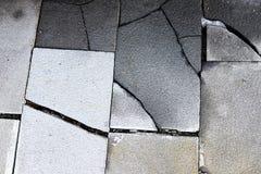 破碎石块路 免版税图库摄影