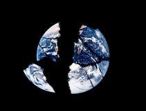破裂的世界 免版税图库摄影