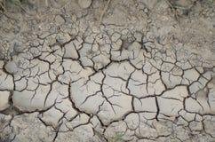 破裂的土壤 免版税库存照片