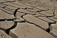 破裂的地球 图库摄影