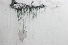 破裂的墙壁,颜色水在具体老墙壁纹理背景,年迈的墙壁纹理崩裂了 图库摄影