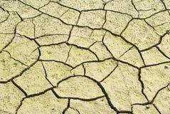 破裂的天旱地产是 图库摄影