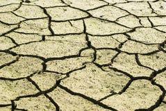 破裂的天旱地产是 免版税图库摄影