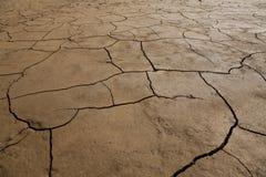 破裂的干燥地球 免版税库存照片