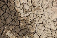 破裂的干燥陆运 免版税库存图片