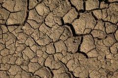 破裂的干燥陆运 免版税图库摄影
