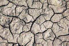 破裂的干燥陆运 图库摄影