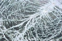 破裂的挡风玻璃 图库摄影