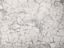 破裂的水泥墙壁材料,纹理 免版税库存图片