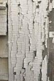 破裂的油漆纹理岗位和房屋板壁 库存照片