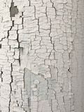 破裂的油漆纹理岗位 免版税库存图片