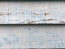 破裂的油漆纹理房屋板壁 库存图片