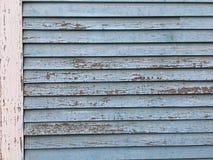 破裂的油漆纹理房屋板壁 免版税图库摄影