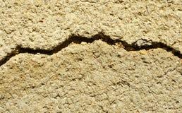 破裂的灰泥 免版税图库摄影
