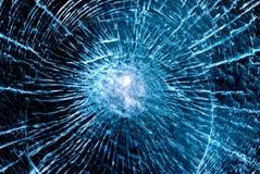 破裂的玻璃 免版税库存照片