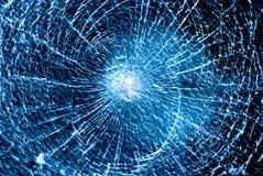 破裂的玻璃 图库摄影