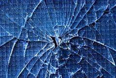 破裂的玻璃 免版税库存图片