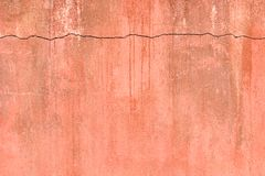 破裂的老墙壁 图库摄影