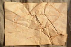 破裂纸张 库存图片